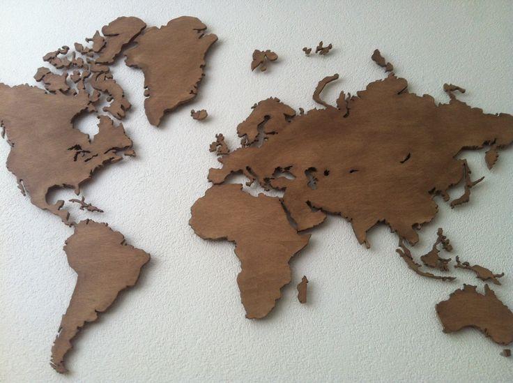 25 beste idee n over wereldkaart wand op pinterest kaarten wereldbol en kaart achtergrond - Associatie van kleur e geen schilderij ...