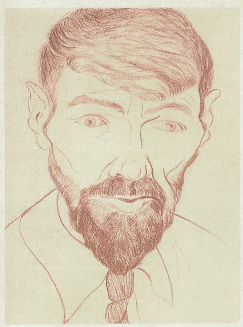 Image result for dh lawrence SELF PORTRAIT