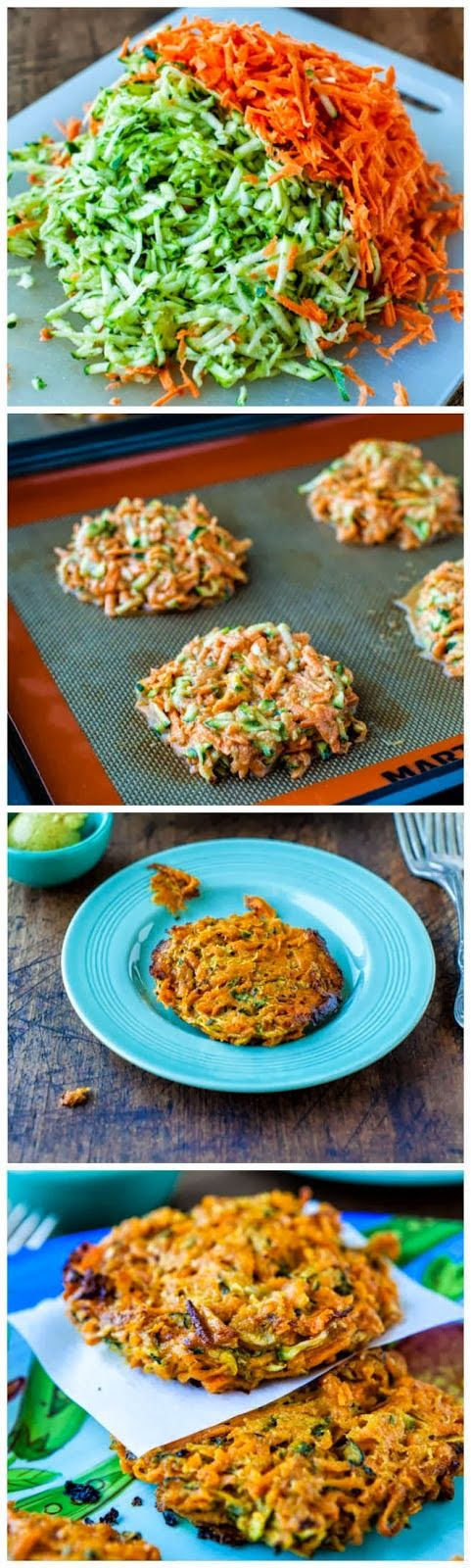Baked Chipotle Sweet Potato and Zucchini Fritters, dinner sides, dinner, vegetarian