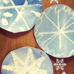 30 Ideas & Ways to Make a Snowflake - hands on : as we grow