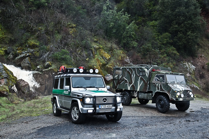 Overlanding in the G Wagen and the Unimog 404. | Overland ...