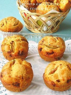 » Muffins cu chorizo si rosii uscateCulorile din Farfurie