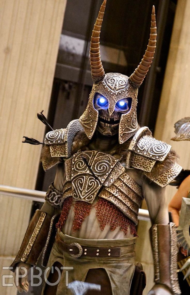 Awesome Skyrim Draugr  [EPBOT: The Best Cosplay of Dragon Con 2014, Pt 6]