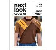 next look CLOSE UP Men Knit wear SS18