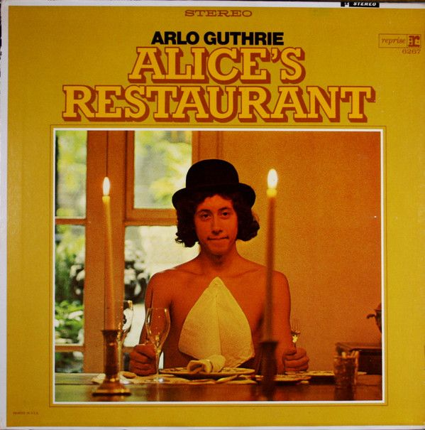 Arlo Guthrie - Alice's Restaurant (Vinyl, LP, Album) at Discogs  1967 [reissue 1968]
