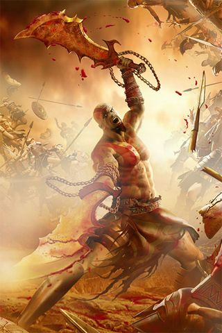 God Of War Mobile Edition MOD APK Android Unlimited Money