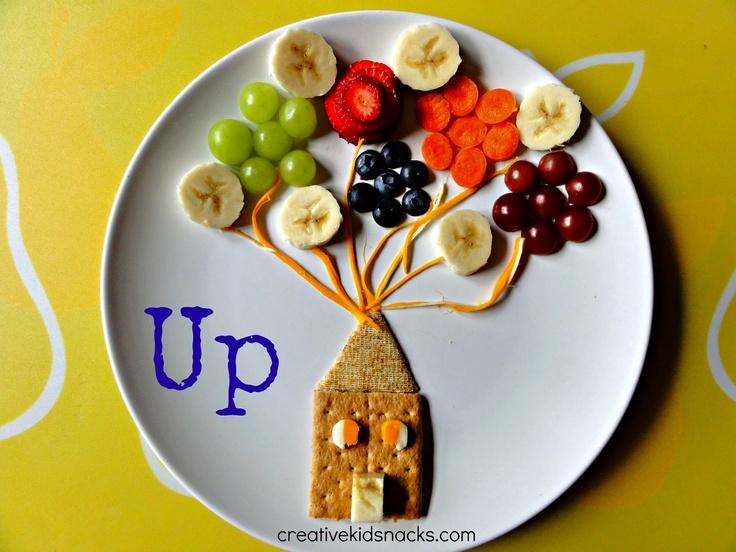 "Creative Kid Snacks: Disney's ""Up"" lunch"