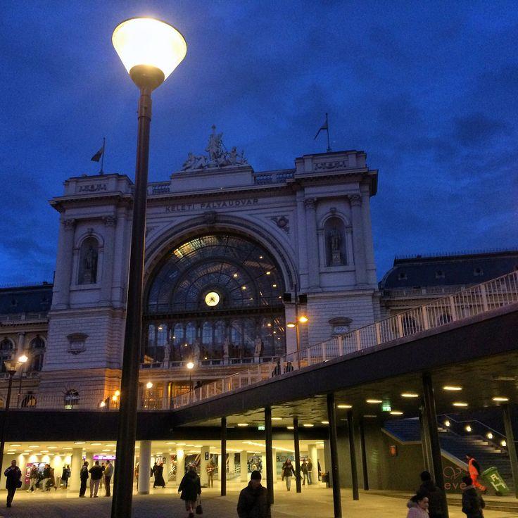 Keleti station. Hungary