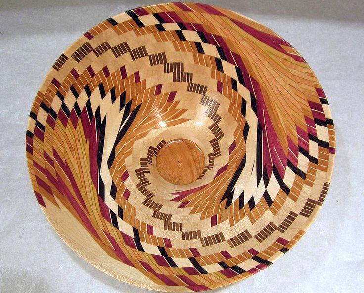exotic segmented wood bowls