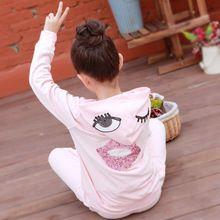 2016 znaków kostiumy odzież dziecięca dla dziewczynek dzieci Bluzy z kapturem płaszcz spodnie garnitury dziewczyny ubranie szare różowe zestawy sportowe (Chiny (kontynentalne))