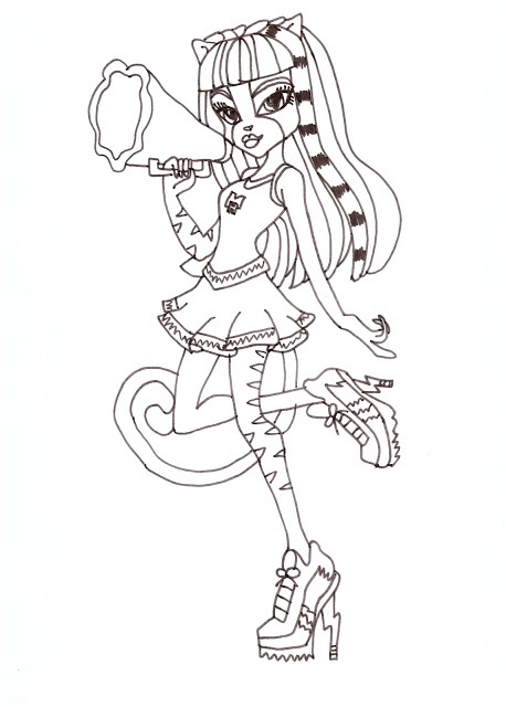 14 best Monster high meowlodi- purrsephone 1 images on Pinterest - copy monster high gooliope jellington coloring pages