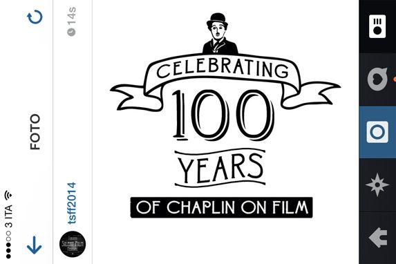 Infografica per i 100 anni dei film interpretati da Charlie Chaplin