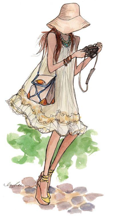 As aquarelas de Inslee Haynes são sempre sinônimo de elegância e deuma  simplicidade chique. Simplicidade chique é ótimo, né gente? Mas com...