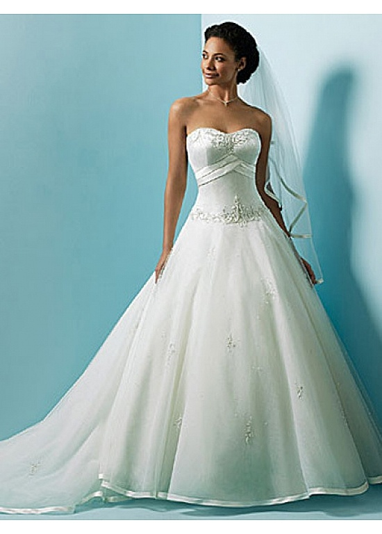 Ball Gown Wedding Dress Material : Wedding dresses ball gowns on long prom uk