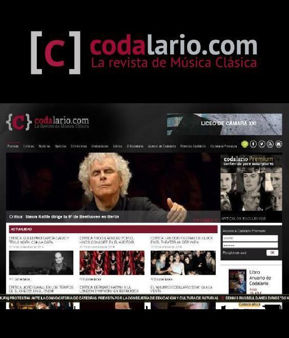 Revista especializada en música