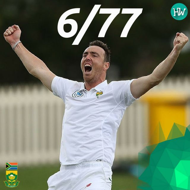 Kyle Abbott. The man of the hour! He swept them off their feet. The Proteas have managed yet another series win! #AUSvSA #Abbott