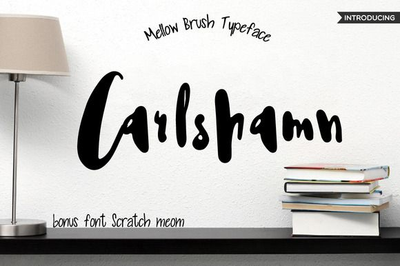 Carlshamn font by Mellow Design Lab on @creativemarket