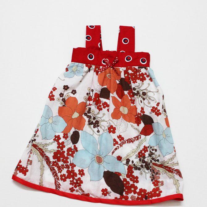 baby dress tutorial