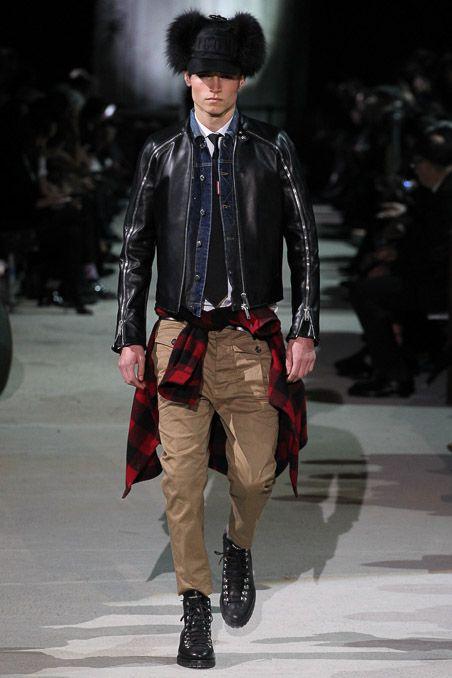 Dsquared² - Fall 2015 Menswear - Look 24 of 45
