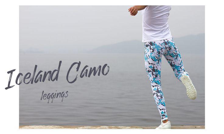 Камуфляжные леггинсы легинси легенсы, дцадцатьдва, twentytwo, 22. Одежда для спорта, бега, фитнеса, кроссфита