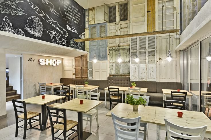 THE SHOP Souvlaki etc. | M.O.B Interior Design Studio ...