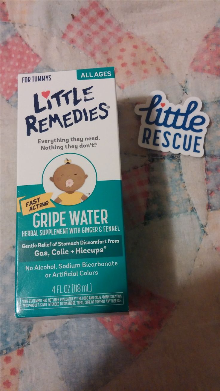 Little Remedies Gripe Water. No one got gas drops or gripe water for us and we have learned as things have gone along that they can be A LOT of help, so I think they would make a nice, unorthodox baby shower gift.