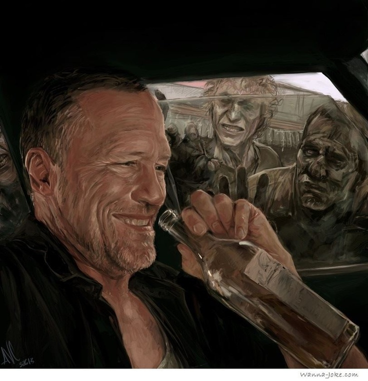 The Walking Dead art, this is crazy good
