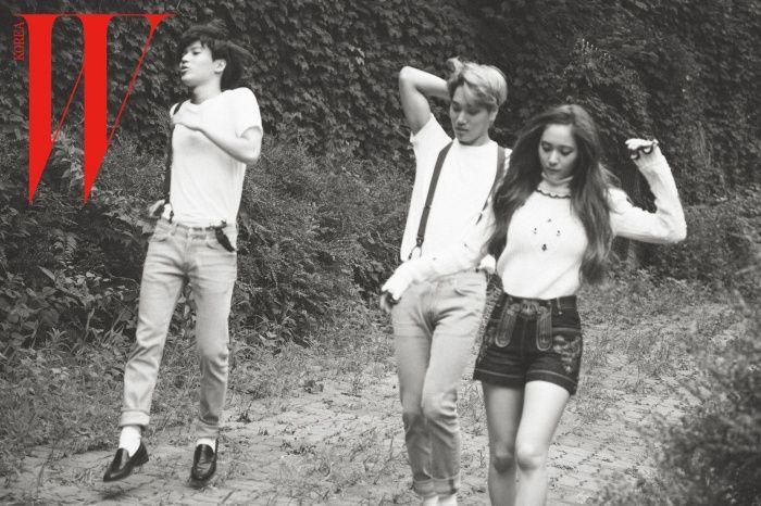 [OFFICIAL] 150717 f(Krystal) = W Korea Magazine August Issue [5P] – f(♥)