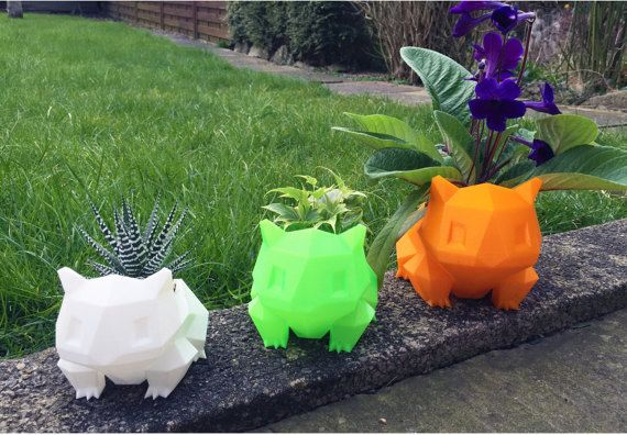 These Bulbasaur planters, £6.99 | Here's What British People Are Buying On Etsy This Week