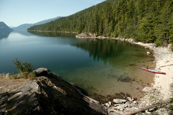 Slocan Lake, Valhalla Provincial Park, BC. I've been on the other side of this lake :D