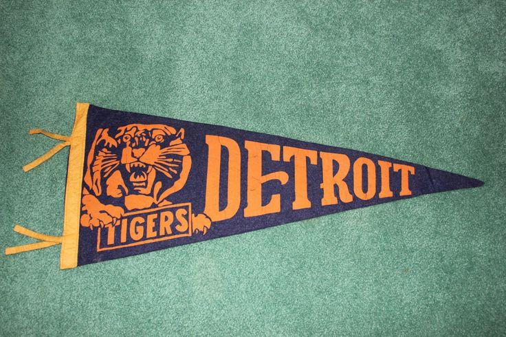 Detroit Tigers Baseball Pennant, 1942
