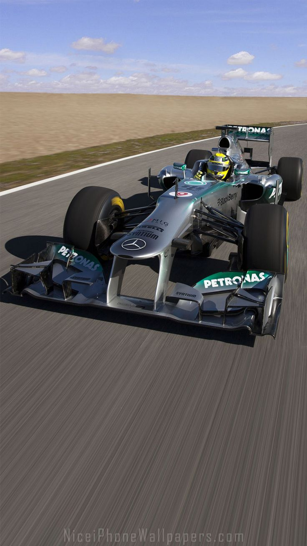 Mercedes-Benz Formula 1 F1 iPhone 6/6 plus wallpaper | Cars iPhone wallpapers | Pinterest | F1 ...