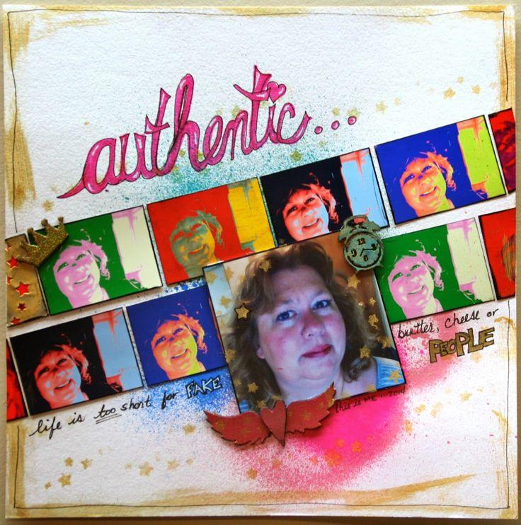 Lynne's Art World: Challenge YOUrself #5 - Use Something Trendy...