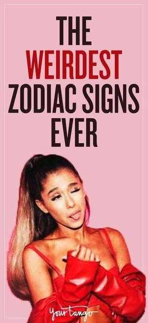 How weird normal zodiac signs astrology