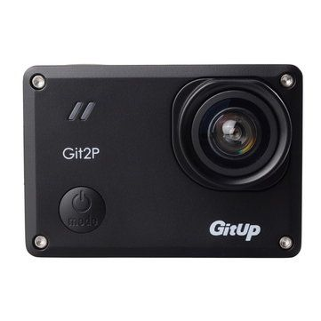 GitUp Git2P 2160P WiFi Action Camera 90 Degree Lens FOV Support Remote control