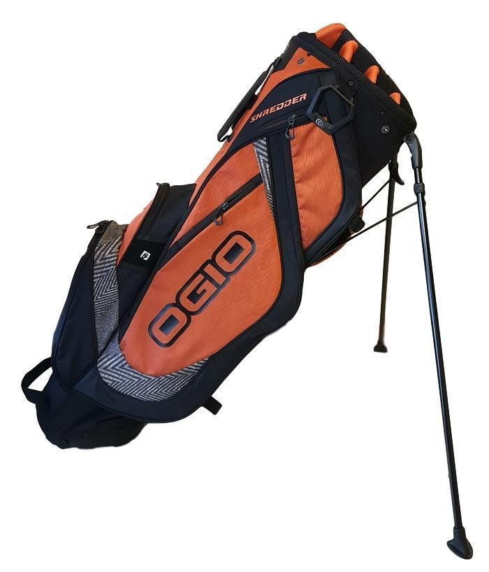 Ogio Shredder Stand Golf Bag Black Orange New In Box Ebay Link