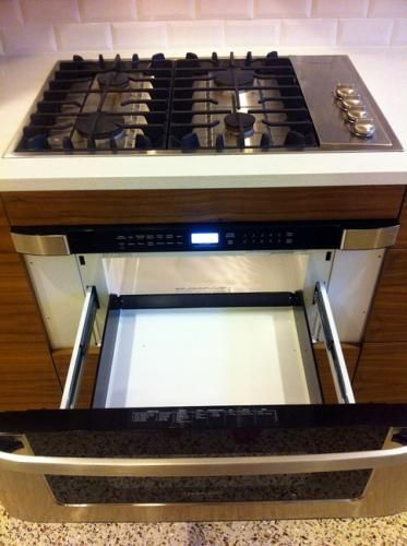 Microwaves Mid Century Modern Kitchen And Drawers On