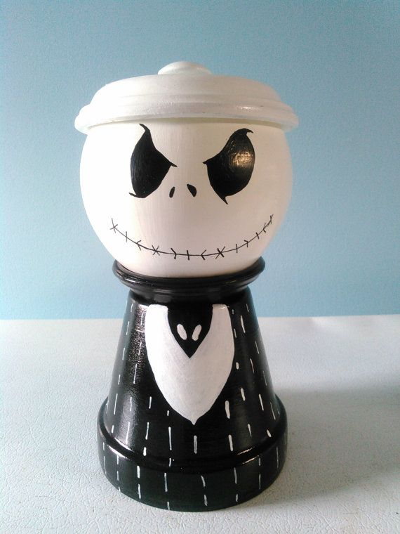 Jack candy jar by NancyGreatLakesCraft on Etsy