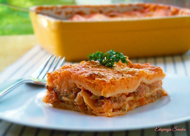 Wegańska lasagne (bezglutenowa)