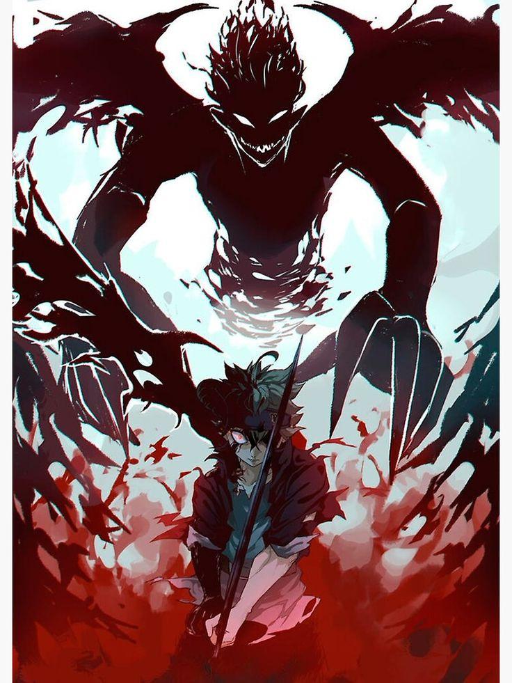 'Demon antimagic antler' Poster by terpres in 2020 Black