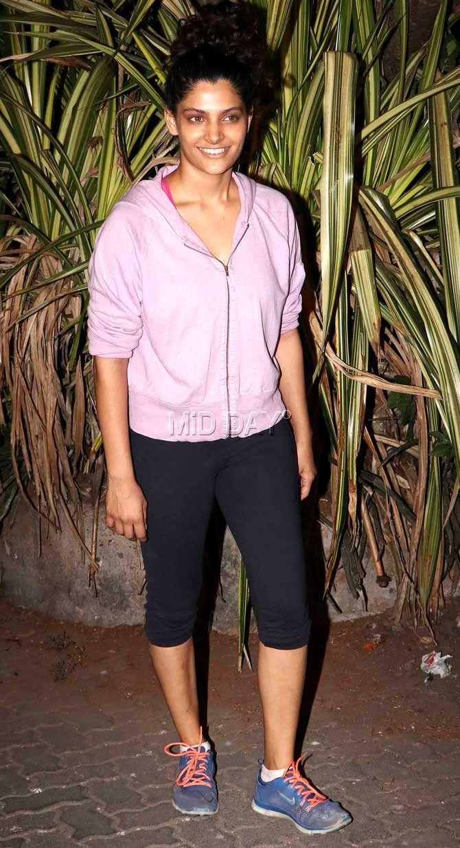 Saiyami Kher spotted in Bandra, Mumbai. #Bollywood #Fashion #Style #Beauty #Hot #Sexy