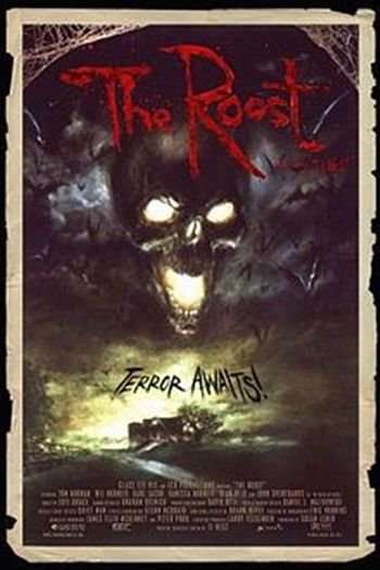 2005's The Roost is the feature debut of genre director Ti West and is one of the more unusual takes on zombies. Find out more: http://thezombiesite.com/the-roost-2005/
