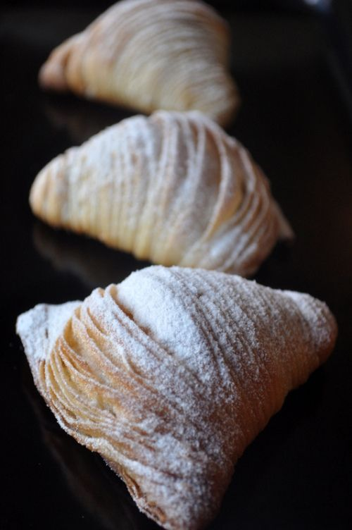 sfogliatelle ricci - this looks so good                                                                                                                                                     More