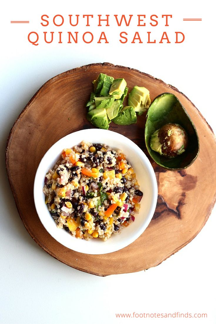 southwest quinoa salad quinoa dishes healthy salads eating healthy ...