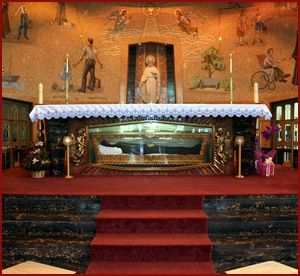 Mother Frances Cabrini First American saint entombed in The Heights