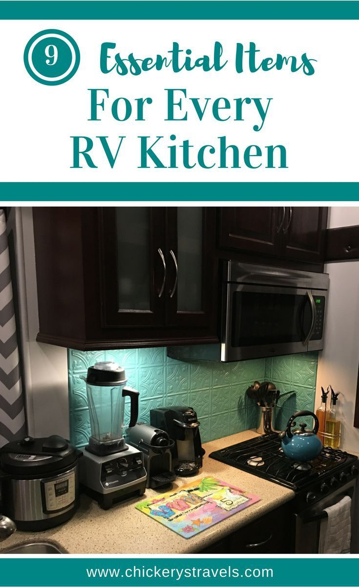 rv kitchen appliances faucet clearance small cooking in the make most of your with these 9 essential items having right essentials tools and makes food preparation easier