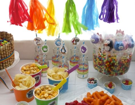 fiesta de cumpleaos de club penguin en casa club penguin blog and fiestas