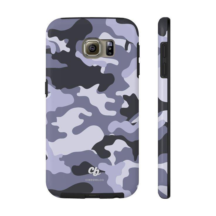 Purple Camo Phone Case