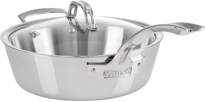 Viking Viking Contemporary Saute Pan Mirror Finish with Lid, 3.6 quart, - $101.73