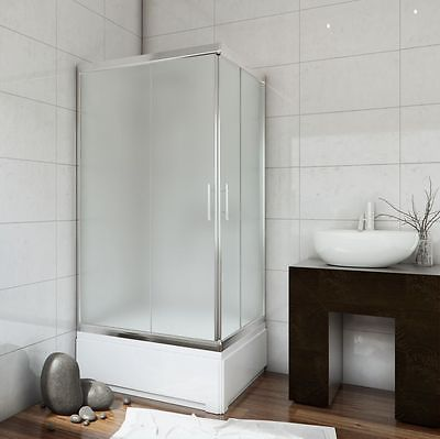 SQUARE DEEP SHOWER TRAY WITH PANEL 800mm X SMALL BATH 10 YEARS WARRANTY